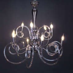 buy Exclusive Crystal Curved Chandelier