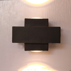 buy Crossed LED Outdoor Light