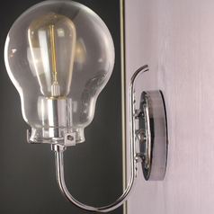 buy Chrome Transparent Ball Light