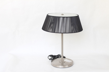buy Black Threaded Table Lamp