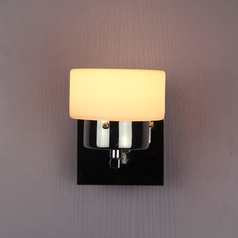 buy Chrome LED Cup Wall Light