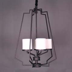 buy Black 5 Cup Traditional Chandelier