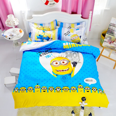 China 3d minion cartoon bedsheet.index