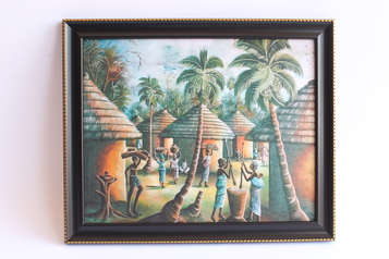 buy Village Scene Art