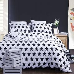 China black   white star bedsheet %282%29.index