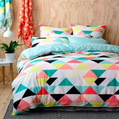 China multicolour triangular bedsheet.index