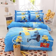 China printed despicable minion bedsheet.index
