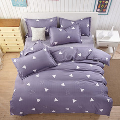 China grey triangle bedsheet.index