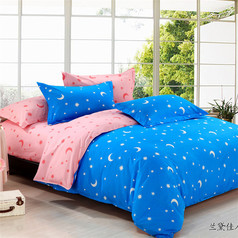 China 2 side star pattern bedsheet.index