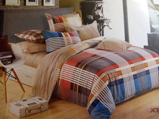 Egyptian check bedsheet.index