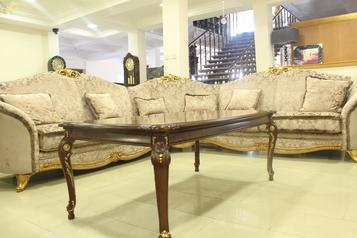 buy Donatello 5 seater corner sofa with coffee table