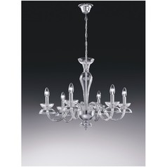 buy Voltolina Dali 6 Glass Chandelier