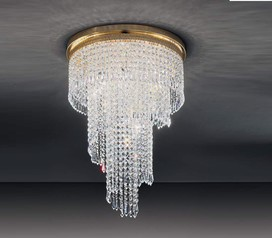 buy Gold Voltolina Twista Crystal Chandelier