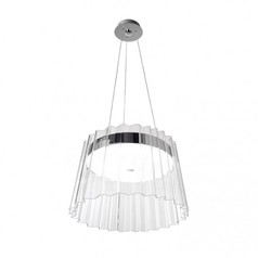 buy Chrome Grok Iris 00-4413-21-M2 Pendant Light