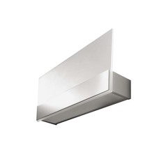 buy Grey & White LEDS C4 Grok Flat 05-2366-81 Wall Lamp