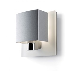 buy Grey & Chrome LED Level 05-0567-N4-B9 Wall Light