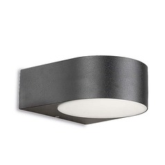 buy Grey Nemesis LED 05-9123-Z5-B8 Wall Light