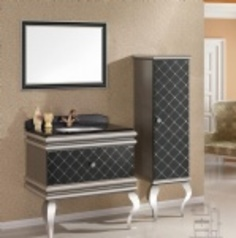 No. 175           stainless steel cabinet 350k 90x60 47cm.index