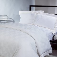 Egyptian pure white box bedsheet.index
