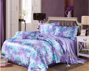 Egyptian purple blue silk satin.index