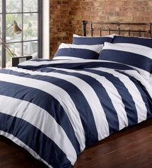 Egyptian white   black stripe bedsheet.index