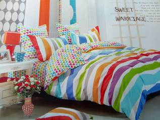 Egyptian multicolour bedsheets.index