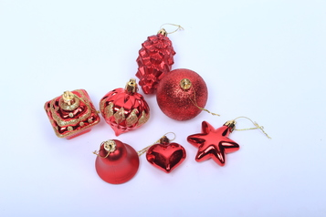 Assorted christmas ornamental balls round.index