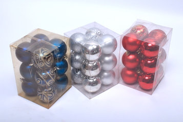 Christmas design balls in blue silver.index