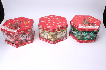 1 pack of hexagonal box ornament.index