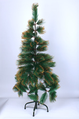 Christmas pine tree with gold edges   4ft.index
