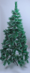 Christmas pine trees with snow edges   6ft.index