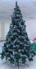 Christmas pine tree with snow edge   10ft.index
