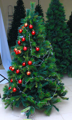 Gum tree christmas decoration   6ft.index
