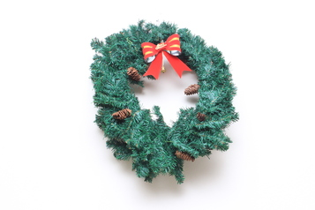 Christmas wreath.index