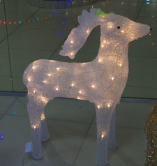 Gold mummy reindeer   christmas decor.index