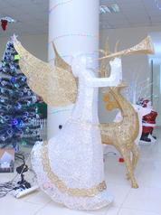 Angelic christmas decoration.index