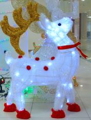 Baby reindeer christmas decoration.index