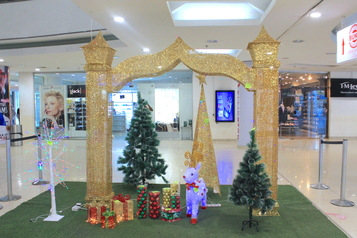 Christmas golden art gate.index