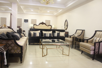 Buy Meler 8 Seater Sofa Set, A Side Table And A Coffee Table