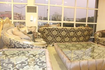 buy Grand 8 Seater Gold Comfort Sofa Set
