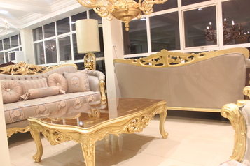 buy Grand 8 Seater Luella Sofa Set