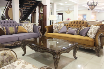 buy Regal 8 Seater Chairs, 1 Lamp Table and a Coffee Table