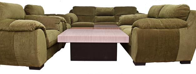 buy Fabric Rio 7 seater Sofa Set