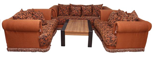 buy Fabric Sahara 7 Seater Sofa Set