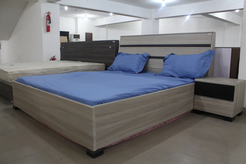 buy Grey and BlackAlibert Bed