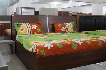buy Brown king Size Aibert Bed