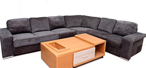 buy Fabric Morino 7 Seater corner sofa