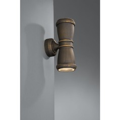 buy SALVADOR Wall Lantern BlackBrush - 17156/42/10