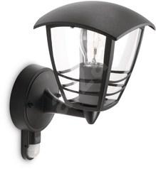 buy CREEK Wall Bracket (Rustique) Black with PIR - 15388/30/16