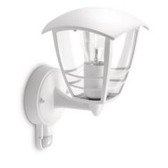buy CREEK Wall Bracket (Rustique) White with PIR - 15388/31/16